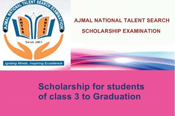 Ajmal National Talent Search Scholarship Examination