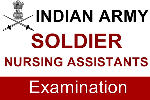 Indian Army Soldier Nursing Assistants (M.E.R.) Examination