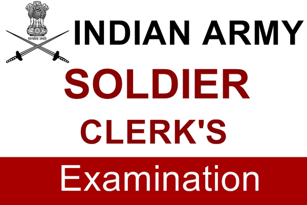 Indian Army Soldier Clerks Examination