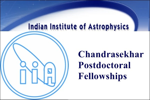 Chandrasekhar Postdoctoral Fellowships