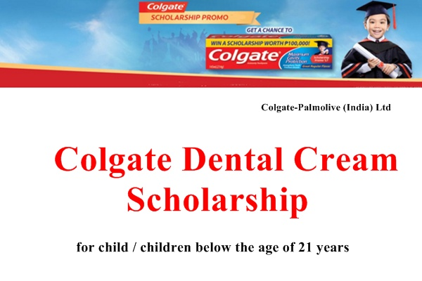 Colgate Dental Cream Scholarship