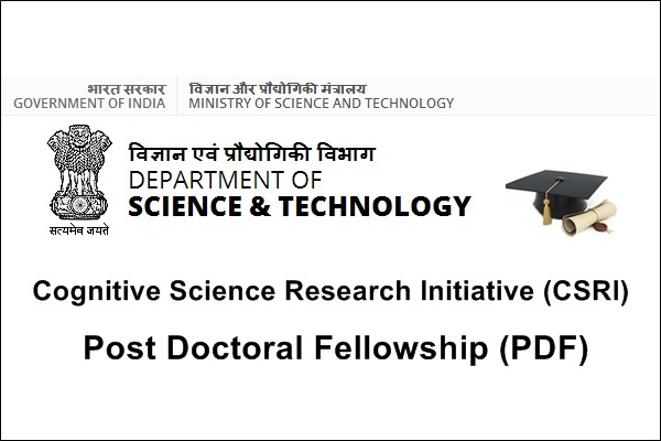 Cognitive Science Research Initiative (CSRI) Post Doctoral