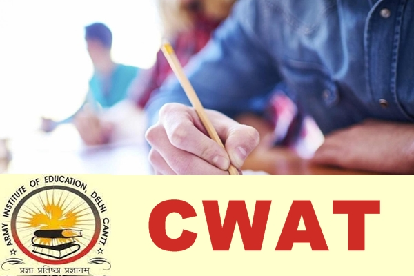 Written Admission Test (WAT)- Army Welfare Education Society (AWES)