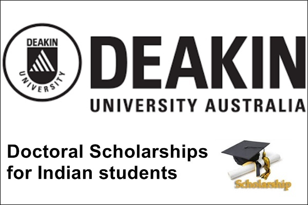 Deakin University Australia Doctoral Scholarships for Indian