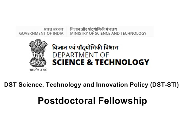 DST Science, Technology and Innovation Policy (DST-STI) Postdoctoral Fellowship
