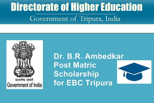 Dr. B.R. Ambedkar Post Matric Scholarship for EBC Tripura