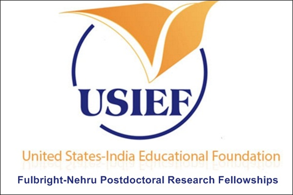 Fulbright-Nehru Postdoctoral Research Fellowships