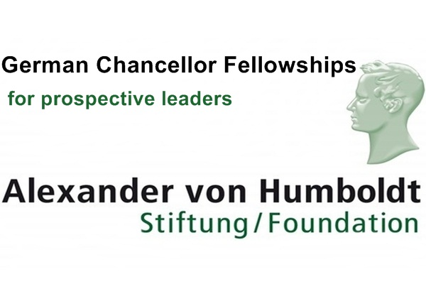 German Chancellor Fellowships for Prospective Leaders