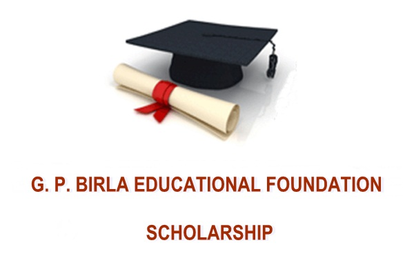 G.P. Birla Educational Foundation Scholarship