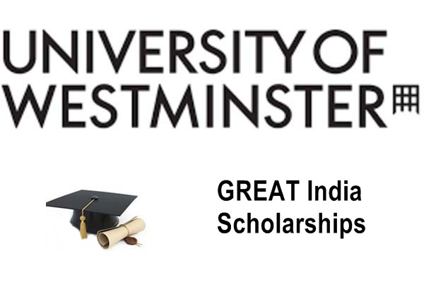 University of Westminster UK GREAT India Scholarships