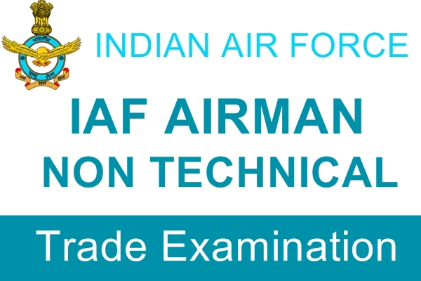 I.A.F. Airman Non Technical Trade Examination