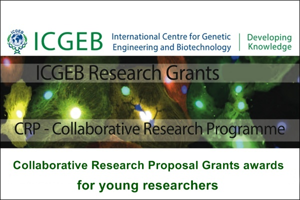 ICGEB CRP Research Grants for Young Scientists