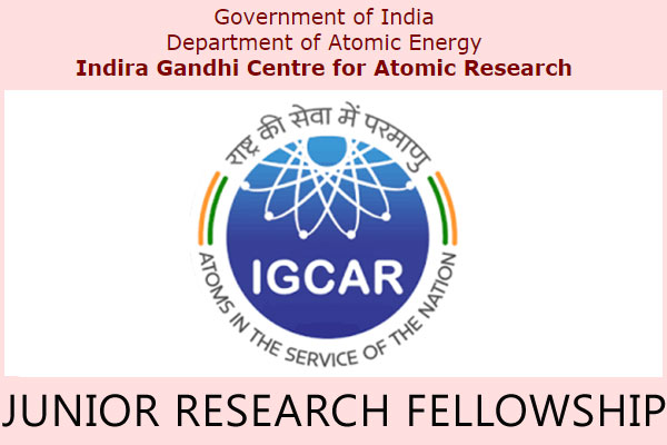 IGCAR Junior Research Fellowship