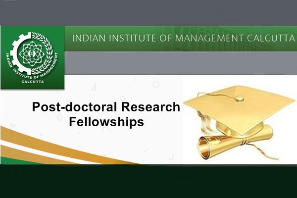 IIM Calcutta Post-Doctoral Research Fellowships