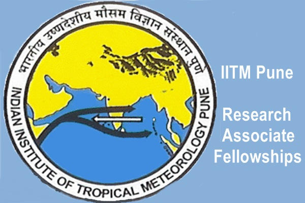 IITM Pune Research Associate Fellowship