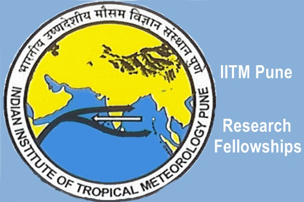IITM Pune Research Fellowships