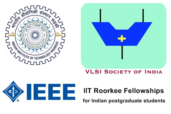 IIT Roorkee Fellowships for Postgraduate Students in India