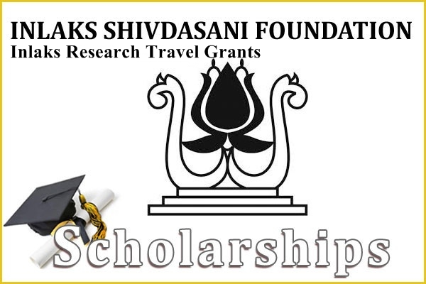Inlaks Shivdasani Foundation Inlaks Research Travel Grants