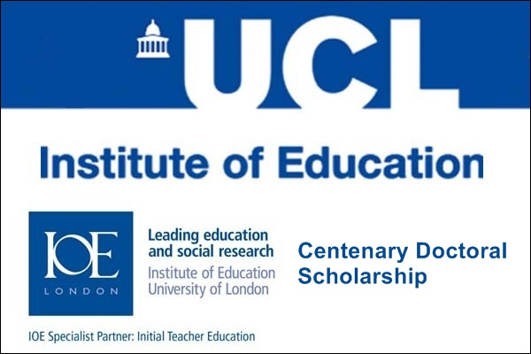 IOE London Centenary Doctoral Scholarship for International Students