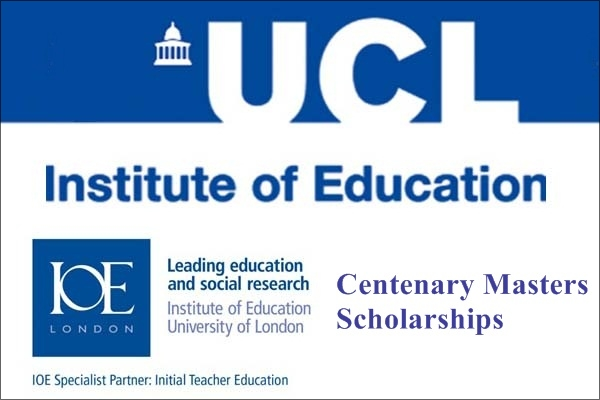IOE London Centenary Masters Scholarships