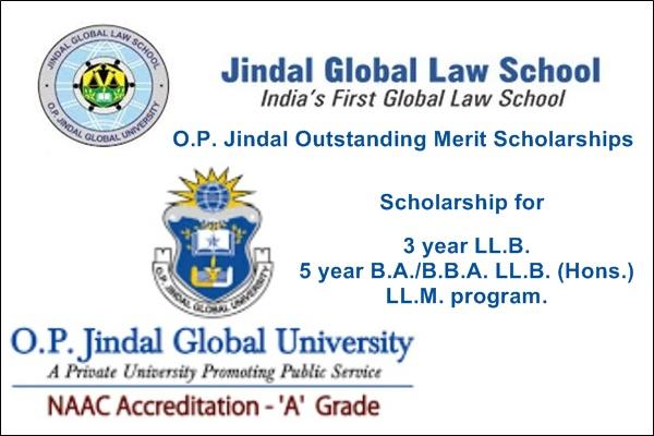 Jindal Global Law School (JGLS) - O P  Jindal Outstanding