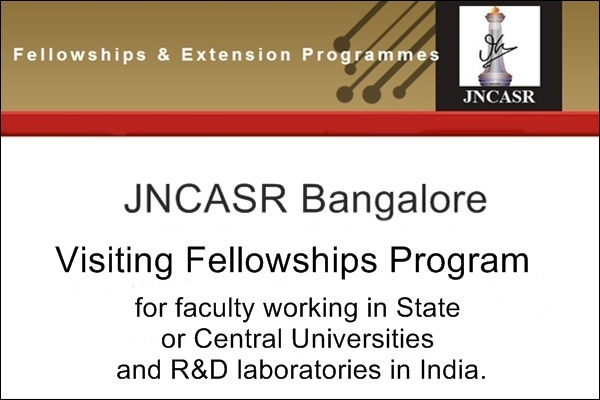 JNCASR Bangalore Visiting Fellowships Program