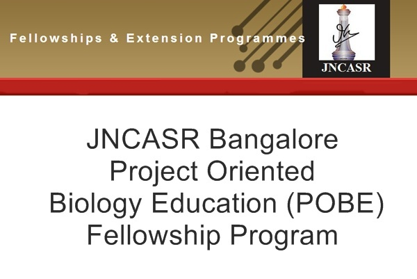 JNCASR Summer Research Fellowship Programme