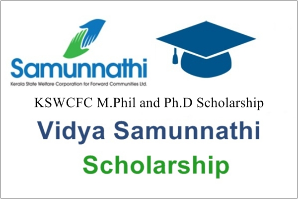 KSWCFC M.Phil and Ph.D Scholarship