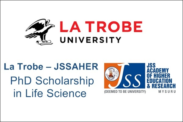 La Trobe-JSSAHER PhD Scholarship in Life Science for Indian Students