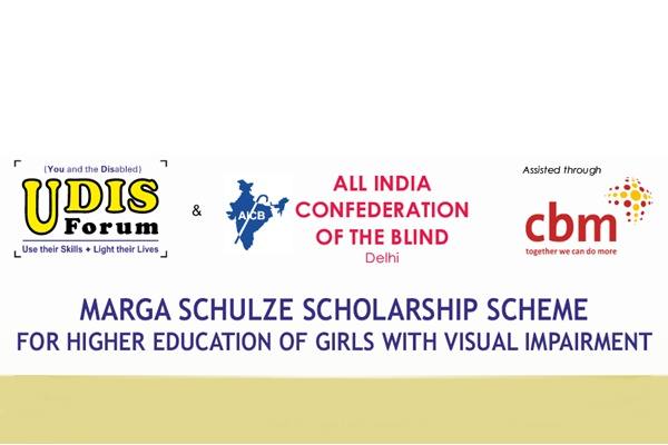 Marga-Schulze Scholarship for Girls with Visual Impairment