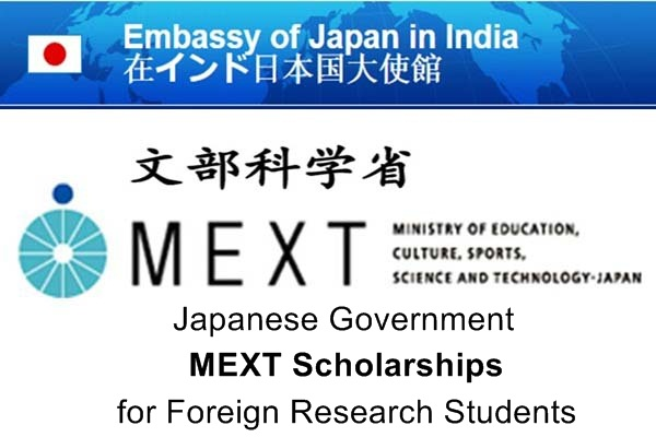 Japanese Government MEXT Scholarships for Foreign Research Students