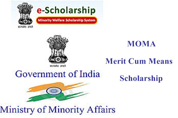 Moma Merit Cum Means Scholarship for Students of Minority Community