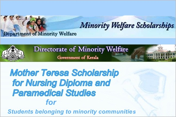 Mother Teresa Scholarship for Nursing Diploma and Paramedical Studies