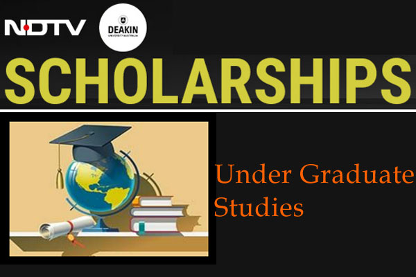 NDTV-Deakin University UG Scholarships