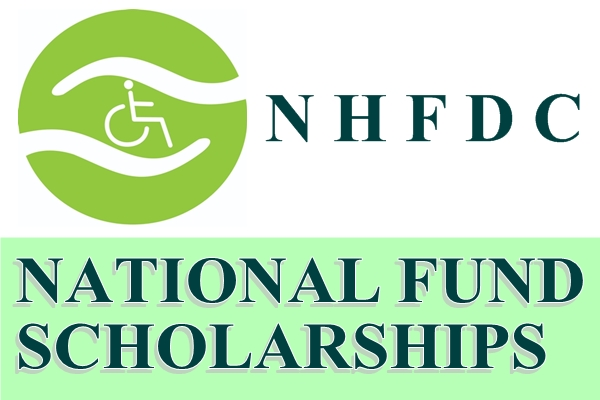 NHFDC National Fund Scholarship for Students with Disabilities