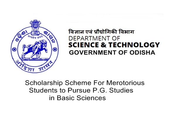 Government of Odisha Scholarship Scheme for PG Studies in Basic Science