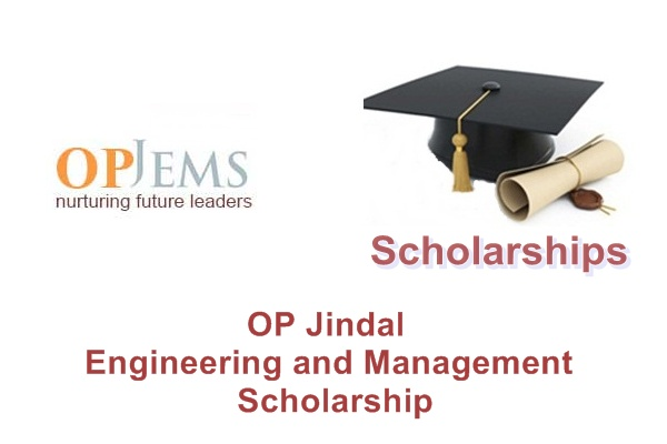 OP Jindal Engineering and Management Scholarship (OPJEMS)