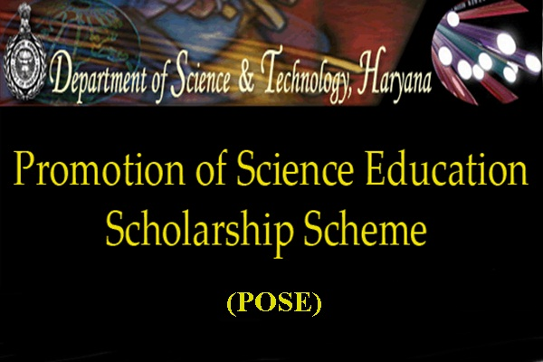 Promotion of Science Education (POSE) Scholarship