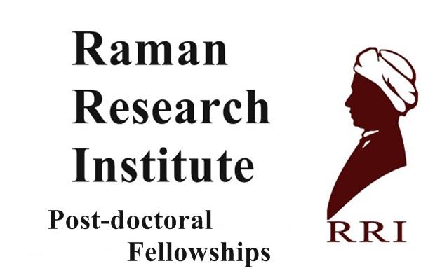 Raman Research Institute (RRI), Post Doctoral Fellowships 2017