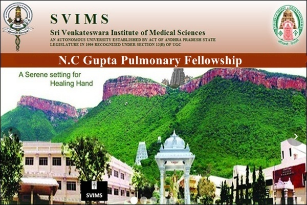 N.C Gupta Pulmonary Fellowship