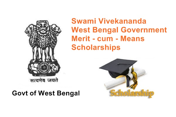 Swami Vivekananda West Bengal Government Merit cum Means Scholarships