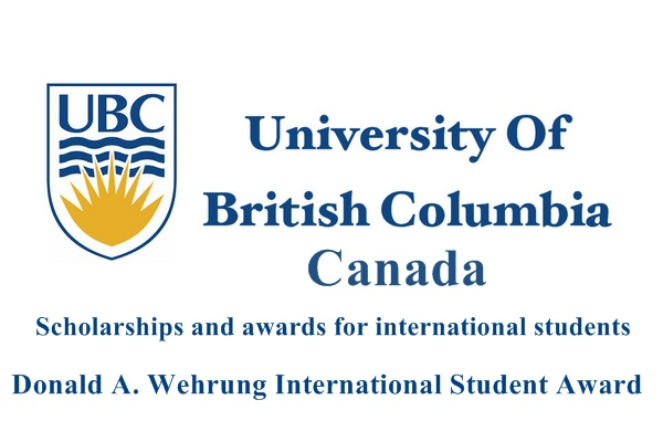 University of British Columbia, Canada International Scholarship