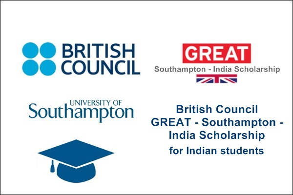 British Council GREAT - Southampton - India Scholarship