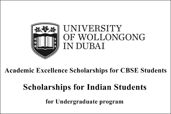 University of Wollongong Academic Excellence Scholarships for Indian CBSE Students