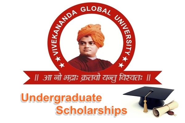 Vivekananda Global University Scholarships for Undergraduate Courses